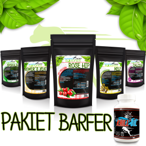 Game Dog - BARFER Pakiet+Krill Oil