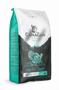Canagan  Cat DENTAL FREE RUN TURKEY - 4 kg