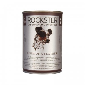 ROCKSTER  BIRDS OF A FEATHER  BIO kurczak &  BIO indyk 400g