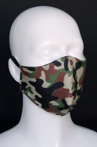 Maska na spacer  - CAMO WOODLAND