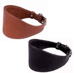 Obroża dla charta COLLAR SOFT 29-35 cm L 15 mm