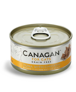 Canagan TUNA WITH CHICKEN 1 x 75g - dla kotów