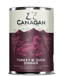 Canagan Can TURKEY & DUCK DINNER - dla psów -  0,4kg