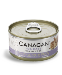 Canagan Can  CHICKEN WITH DUCK  1 x 75g  - dla kotów